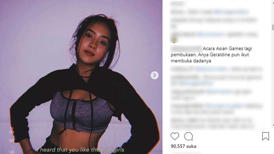 Posting Foto Seksi, Anya Geraldine Kena Sindir Atlet