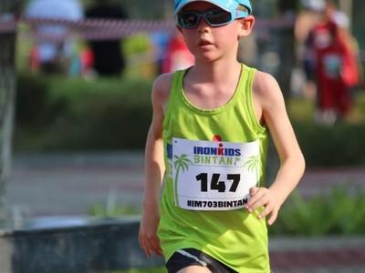 Serunya Anak-anak Bule Ikut Lomba Ironkids Fun Run Bintan