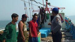 Cegah Penangkapan Benur, Polisi Awasi Perairan Sukabumi