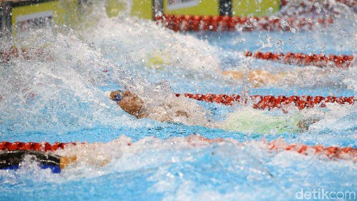 Siman Sudartawa gagal meraih medali di Asian Games 2018. (Foto: Grandyos Zafna)