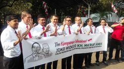 Jokowi sampai Sekjen Koalisi Kompak Bergaya Moge