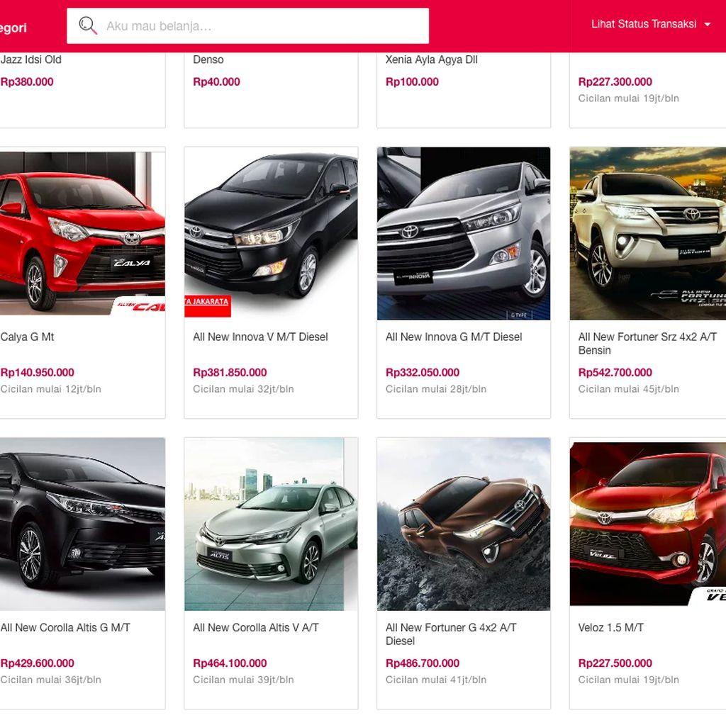 Beli Kendaraan Lebih Mahal di Online, Ini Jawaban para E-Commerce