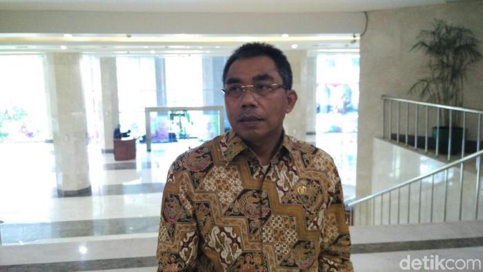 Foto: Ketua Fraksi PDIP DKI Gembong Warsono (Fida/detikcom)