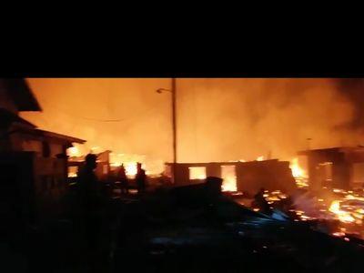 Ini Sebab Pulau Bungin Terbakar Pasca Gempa Lombok 7 SR