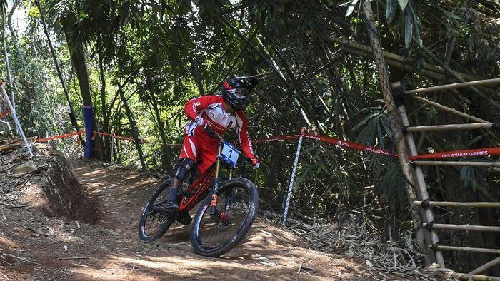 Khoiful Mukhib mempersembahkan emas keempat buat Indonesia di Asian Games 2018 (Foto: Aji Wisnu Novianto/ANTARA FOTO/INASGOC)