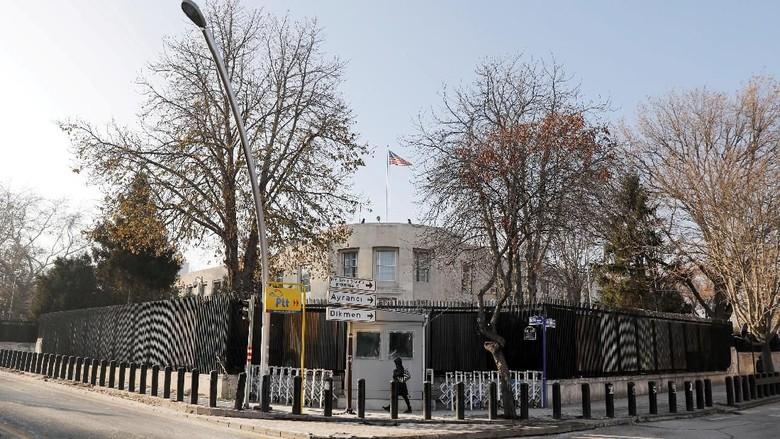 Kedubes AS Ditembaki, Turki: Ini Upaya Menciptakan Kekacauan