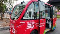 Mengenal Bus Tanpa Sopir yang Hadir di Asian Games 2018