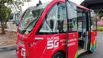 Bus Otonom Belum Beroperasi Secara Maksimal di Asian Games
