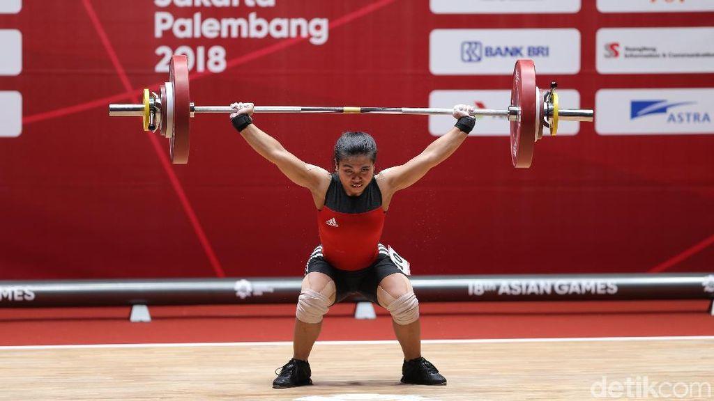 Sri Wahyuni Raih Perak untuk Indonesia di Asian Games 2018
