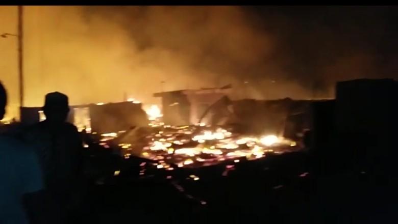 TNI: Kebakaran di Pulau Bungin Sudah Padam, Tak Ada Korban Jiwa