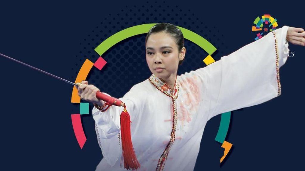 Lindswell Si Ratu Wushu
