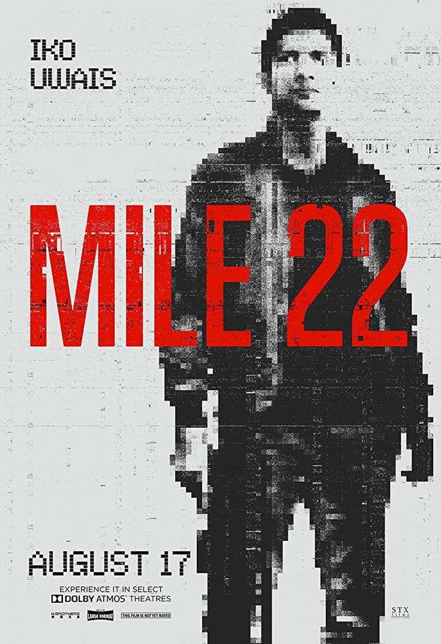 Aksi Iko Uwais di Mile 22