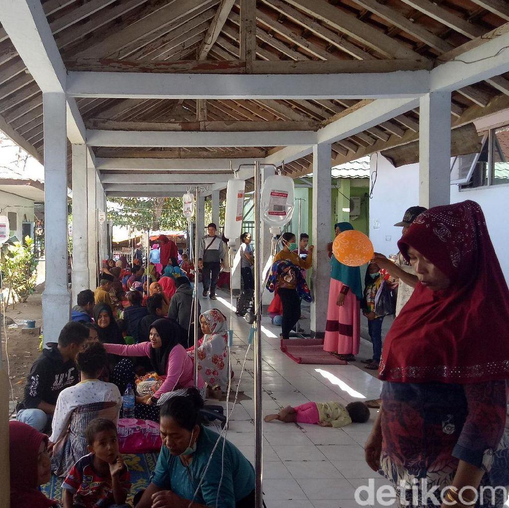 Trauma Gempa, Pasien RSUD Dompu Pilih Dirawat di Luar Ruangan