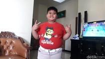 Foto: Fairel, Anak Pramuka yang Melongo Lihat Jokowi Naik Moge