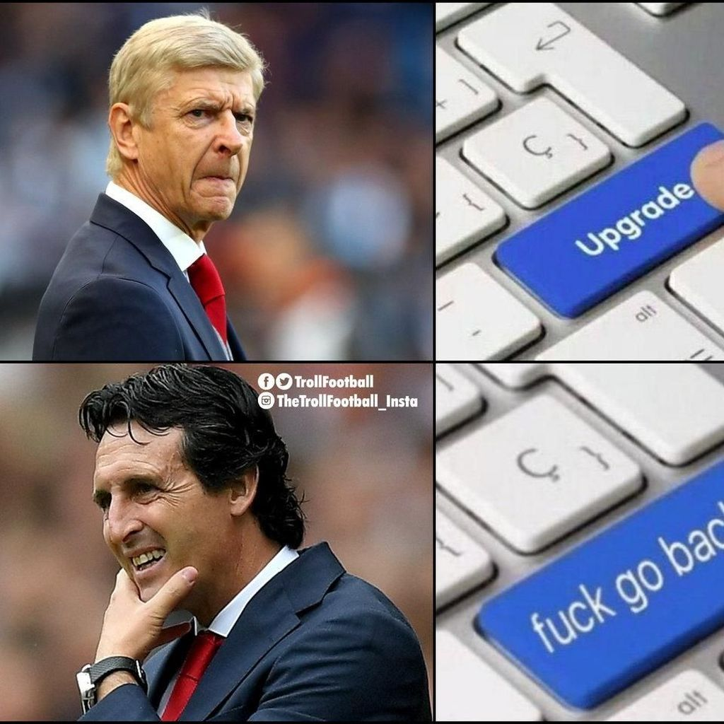MU dan Arsenal Kompak Jadi Bahan Meme Kocak