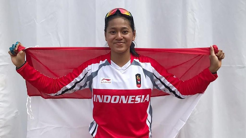 Tiara Andini Tambah Perolehan Emas Indonesia