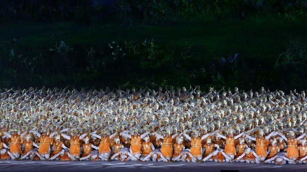 Menpar: Tarian Ratoh Jaroe di Pembukaan Asian Games Luar Biasa