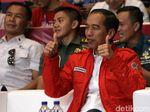 Kembali Dapat Emas, Jokowi Optimistis RI Masuk 8 Besar Asian Games