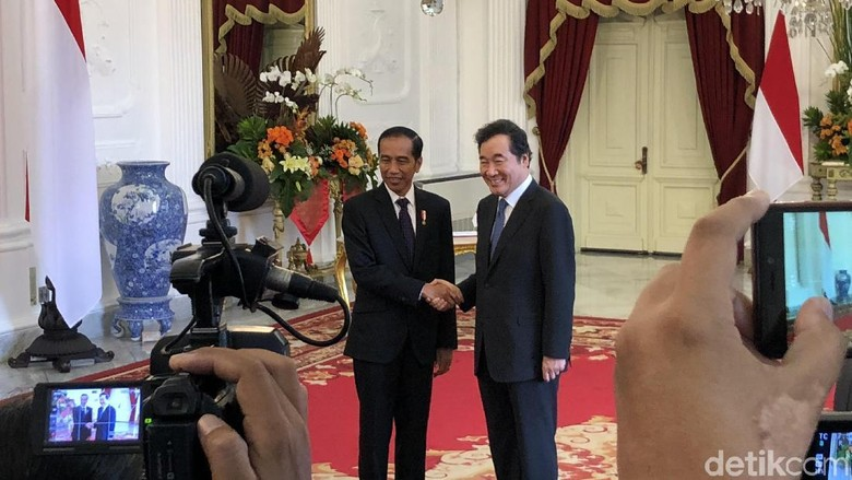 PM Korsel Terima Kasih ke Jokowi Satukan 2 Korea di Asian Games