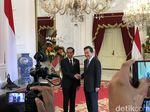 Jokowi Terima Kunjungan PM Korsel di Istana Merdeka