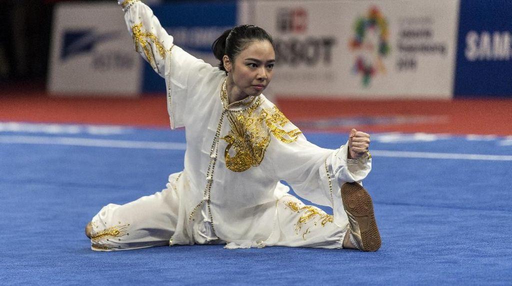 Foto: Gaya Liburan Ratu Wushu Asia, Lindswell Kwok