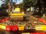 Pemkot Depok Musnahkan 10.108 Botol Miras