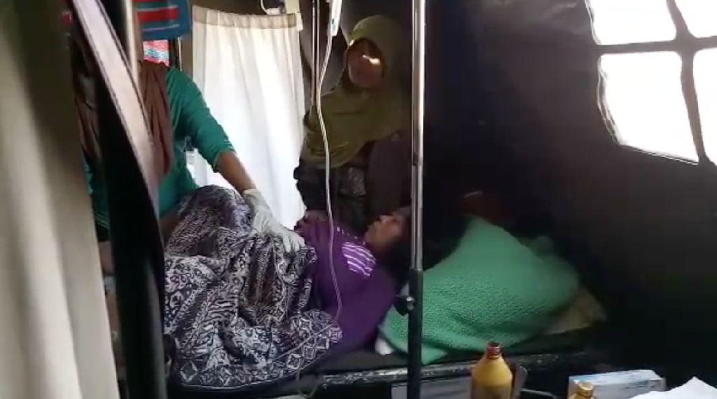 Saat Korban Gempa Lombok Melahirkan di Tenda Pengungsian