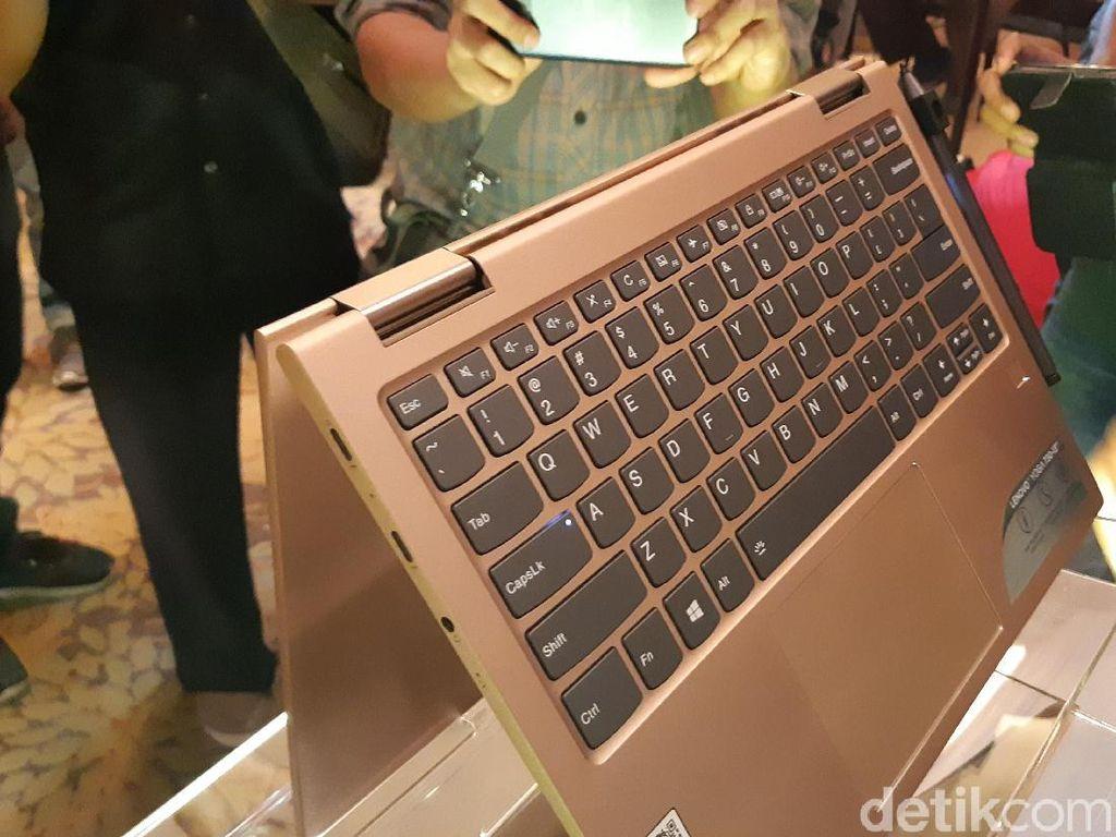 Lebih Dekat dengan Lenovo Yoga 730 yang Super Tipis