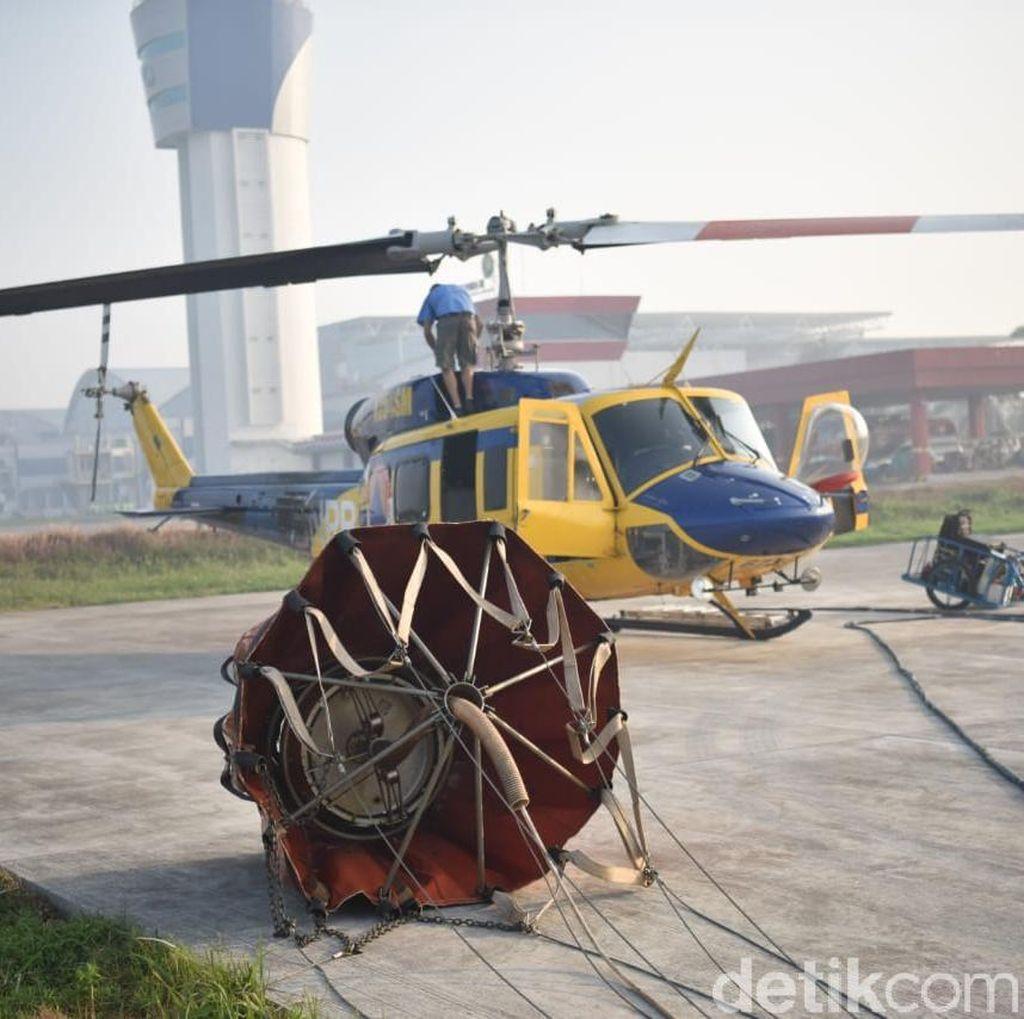 Kebakaran Hutan di Kalbar Meluas, 8 Heli Water Bombing Dikerahkan