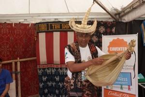 Tenun Ikat Sumba Timur Mejeng di Expo and Conference Asian Games 2018