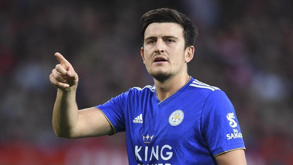 Leicester: Belum Ada Tawaran yang Cocok untuk Maguire