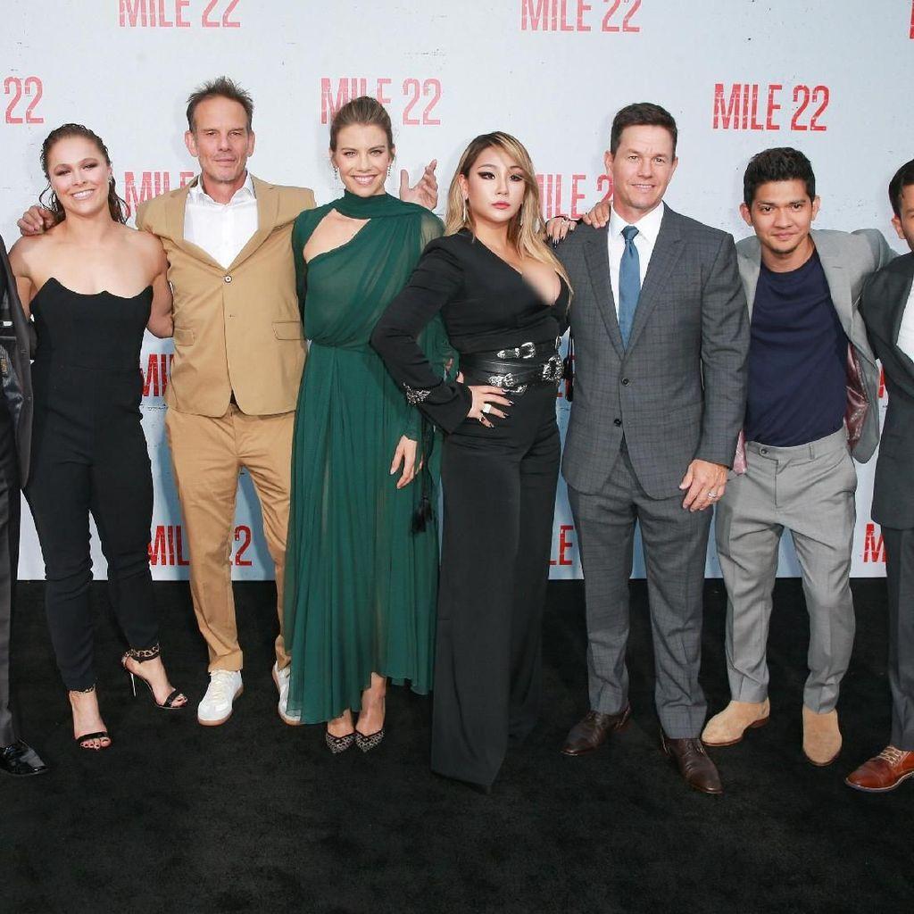 Mile 22 Film Hollywood dengan Bahasa Indonesia Terbanyak untuk Iko