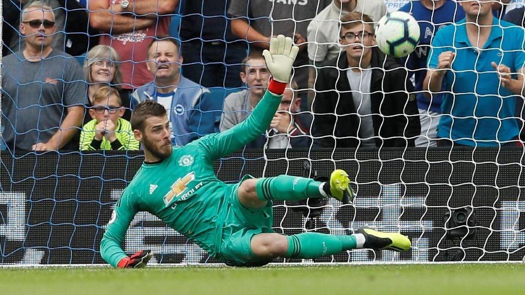 David De Gea (Manchester United/Spanyol) dengan rating 91. (Foto: David Klein/Reuters)