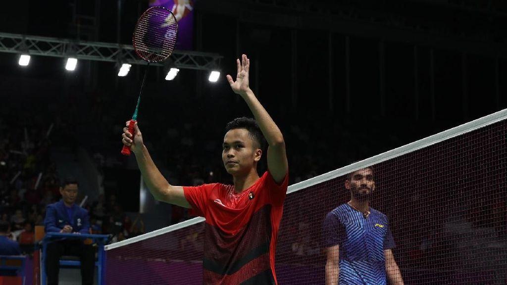 Kalahkan India, Bulutangkis Putra Indonesia Lawan Jepang di Semifinal