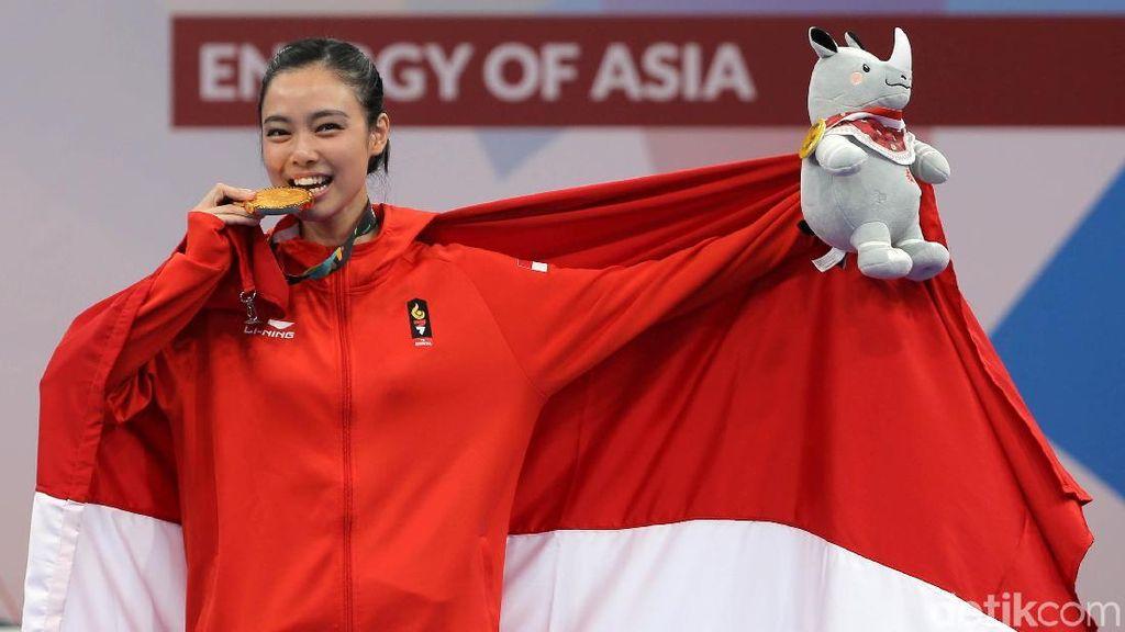 Indonesia Tambah 3 Emas, Ini Perolehan Medali dan Klasemen Asian Games