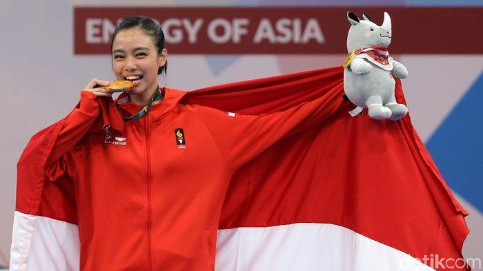 Lindswell Kwok di Asian Games 2018 (Foto: Agung Pambudhy)