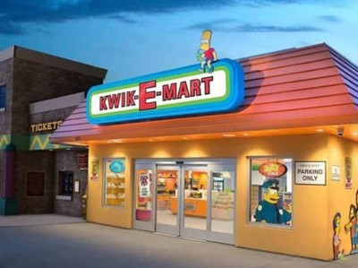 Minimarket di Kartun The Simpsons Sungguhan Ada
