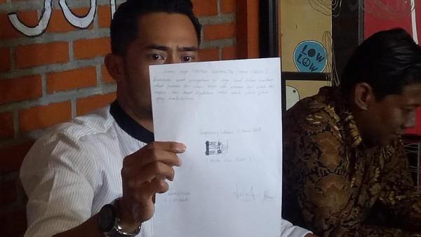 Ini Isi Surat Pernyataan Bermaterai Arfita yang Dijadikan Senjata Yama Carlos