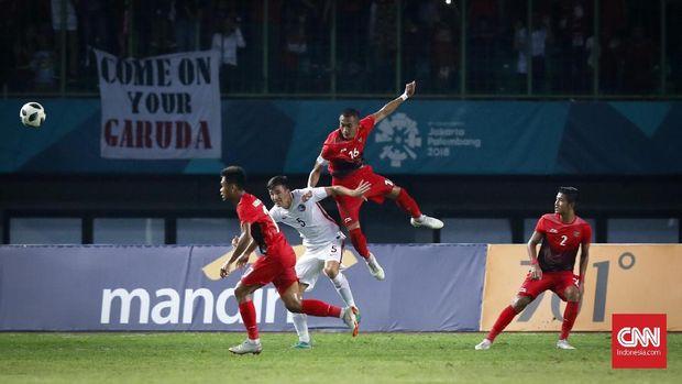 Timnas Indonesia berhasrat lolos ke perempat final.