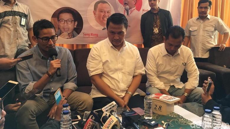 Canda Sandi Sebut Mardani Lebih Cocok Jadi Menteri Dibanding Wagub