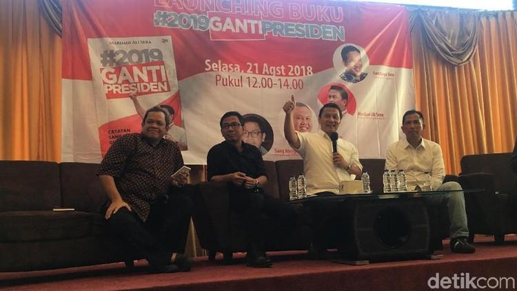 Mardani Rilis Buku #2019GantiPresiden, Ada Strategi Pemenangan