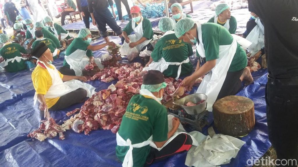 Ikuti Makkah, Ponpes Al-Islah Bondowoso Salat Id dan Kurban Hari Ini