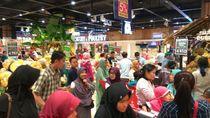 Pascagempa, Transmart Mataram Layani Kebutuhan Harian di Lombok