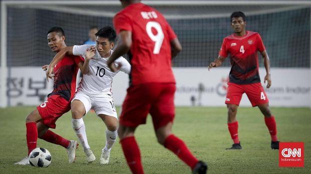 Timnas Indonesia U-23 tidak pernah melawan tim-tim dari Timur Tengah.