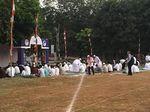 Jemaah Mulai Datangi Masjid Al Azhar Jaksel untuk Salat Id