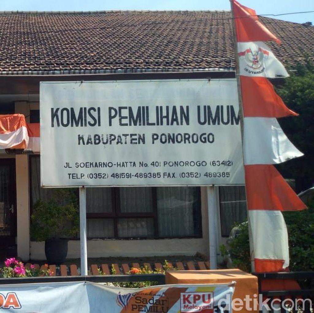KPU Ponorogo Nyatakan 9 Caleg Mengundurkan Diri, Ini Alasannya