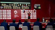 Jokowi Tonton Langsung Aksi Eko Yuli Angkat Besi di Asian Games
