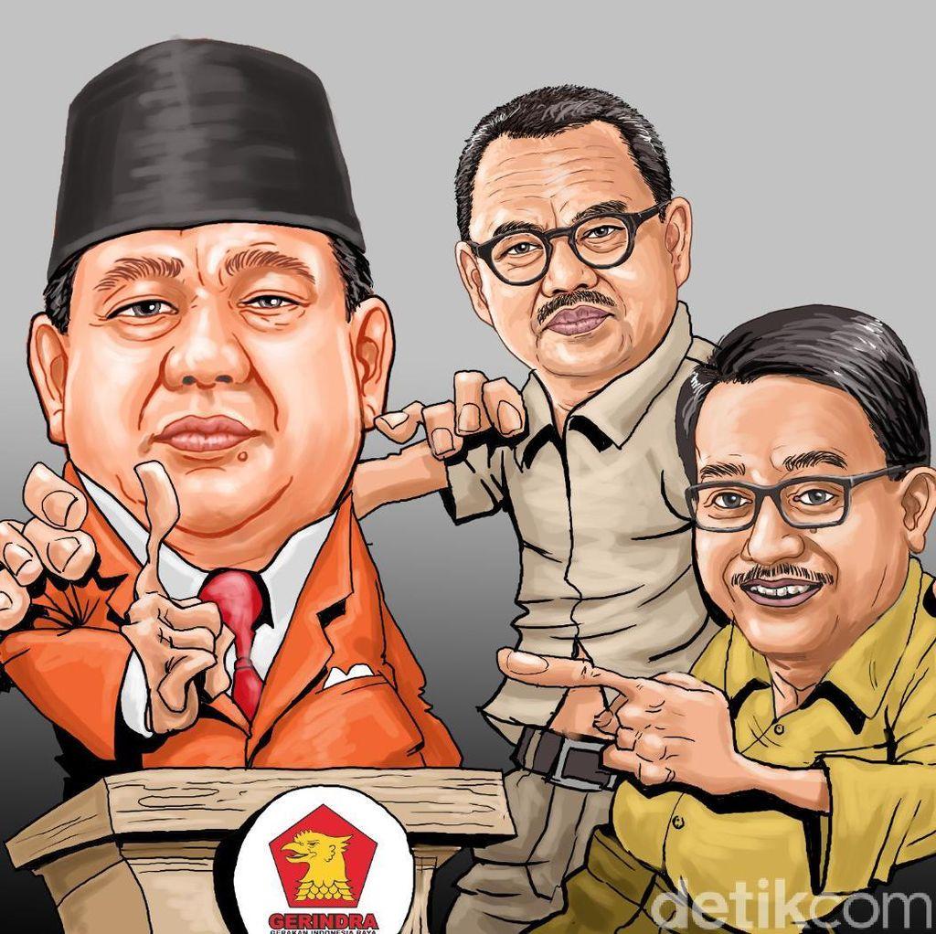 Prabowo dan Barisan Para Mantan