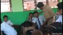 Viral Video Guru SMK di Purwokerto Tabok 4 Siswanya karena Tak Salat