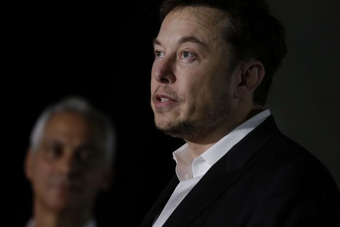 Elon Musk. Foto: Joshua Lott/Getty Images